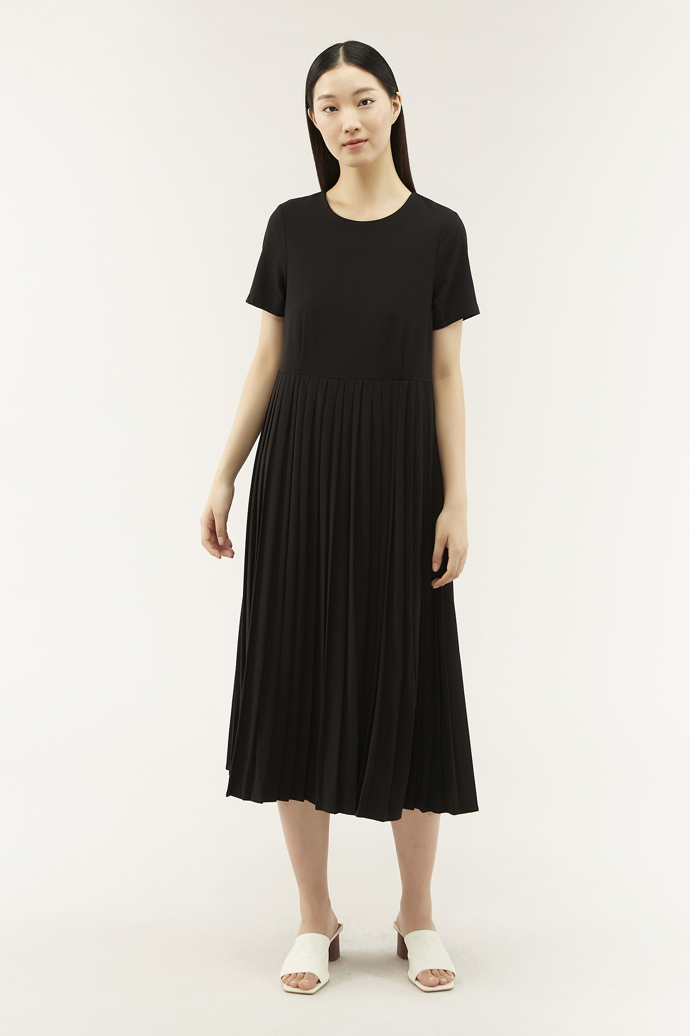 Tarryn Pleat Dress