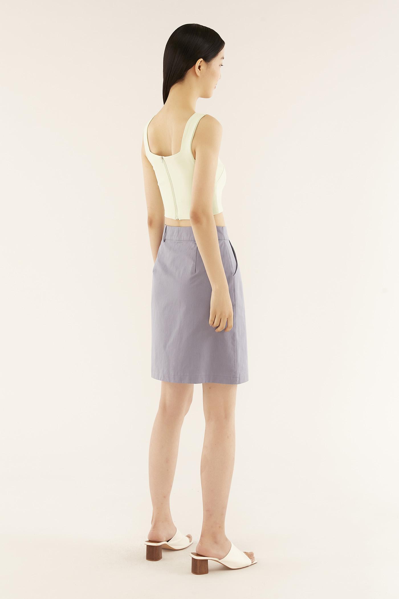 Dalvyn Slim-fit Skirt