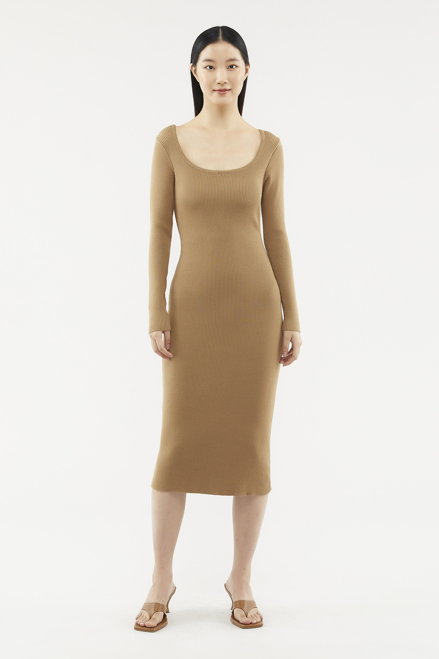 Erlynna Long-sleeve Knit Dress