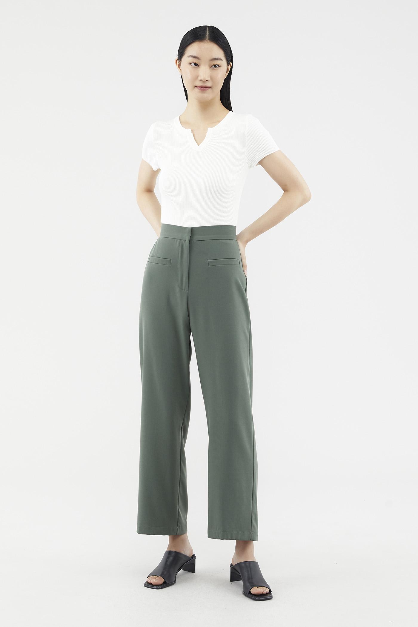 Delisha Straight-leg Pants