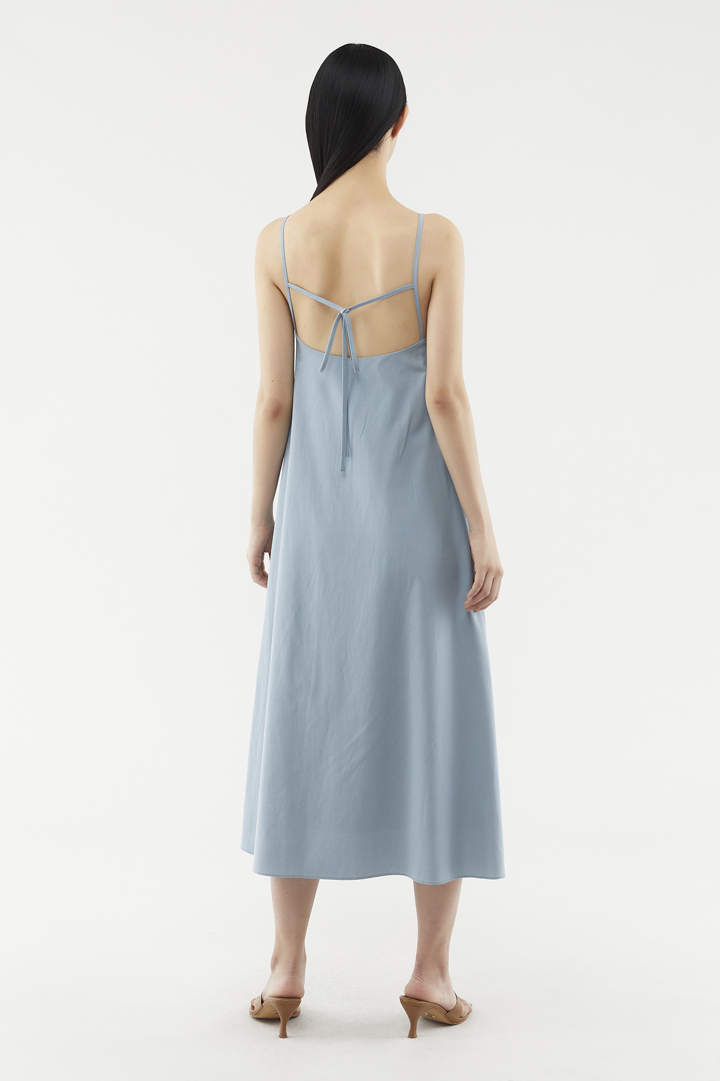 Lauree Back-tie Dress