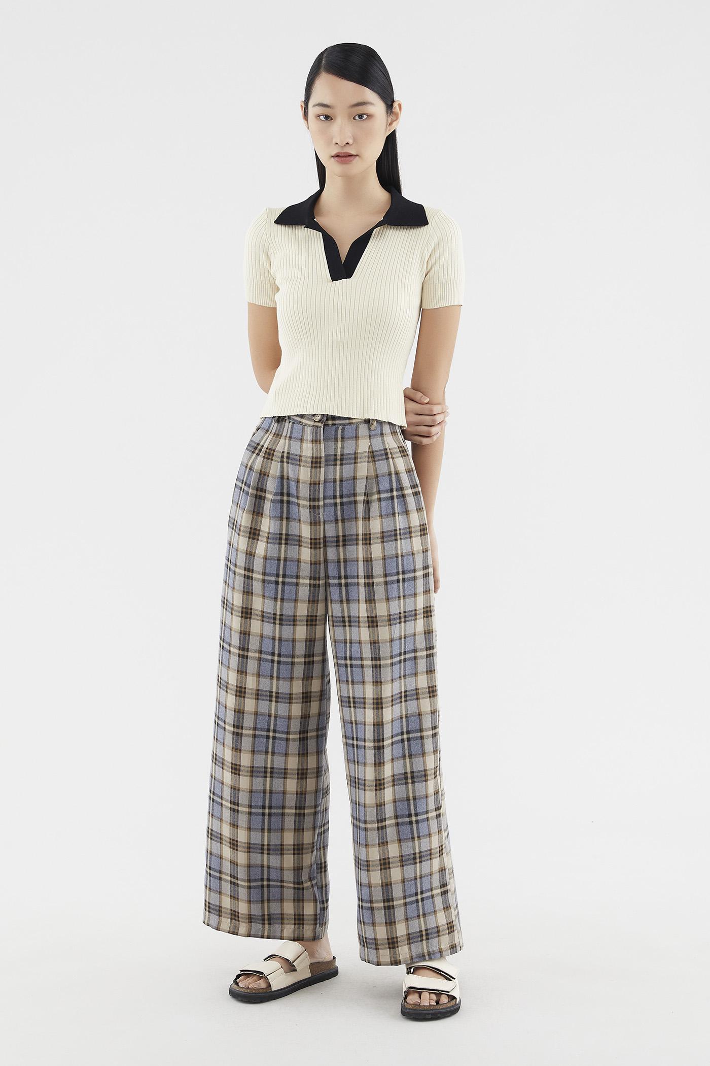 Ranita Check Pants